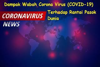 Dampak Wabah Corona Virus (COVID-19) Terhadap Rantai Pasok Dunia