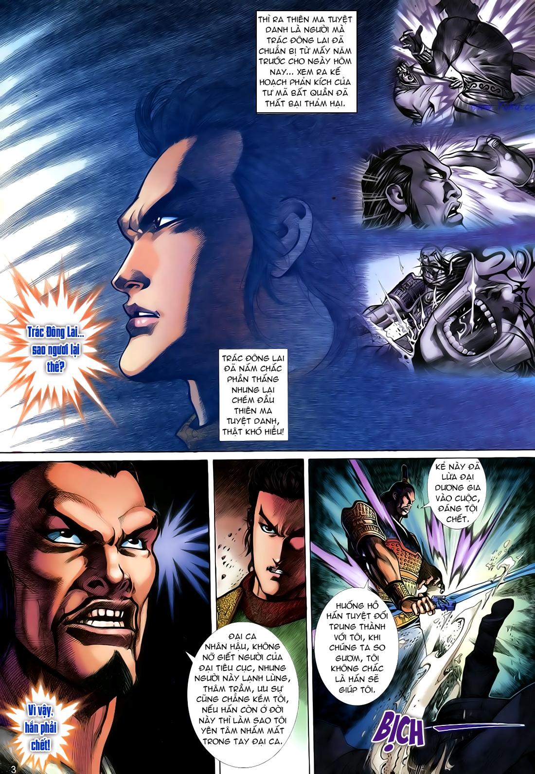 Anh hùng vô lệ Chap 24 trang 4