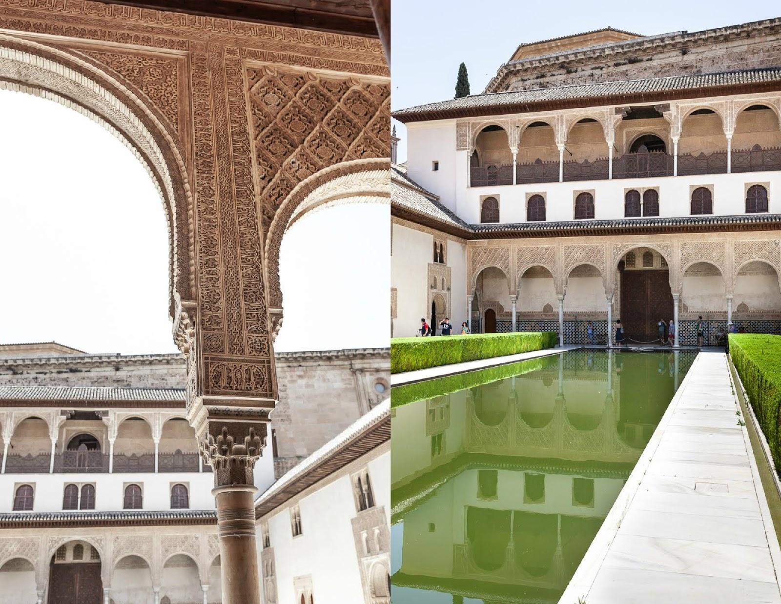 Patio de Arrayanas in Alhambra