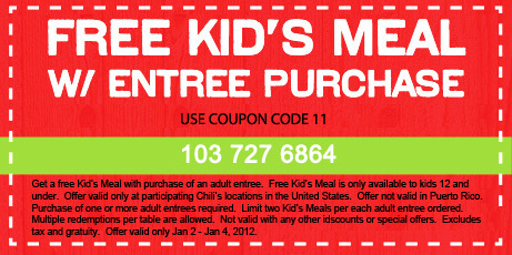 photograph about Chilis Printable Coupons named No cost Small children Foods and Crimson Velvet Molten Cake at Chilis This