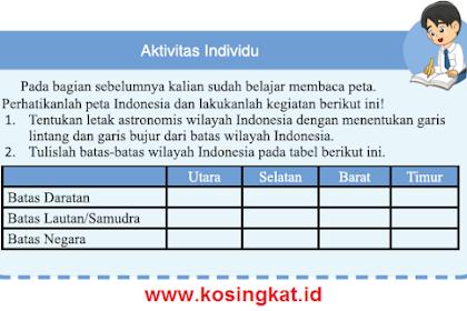 Kunci Jawaban IPS Kelas 7 Halaman 16 Aktivitas Individu
