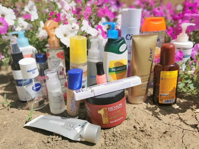 spotrebovana kozmetika za jun 2021