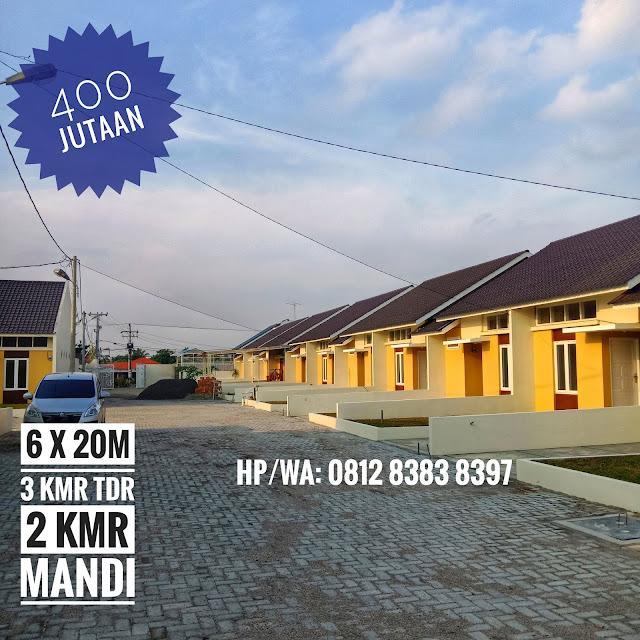 Jual Rumah Murah 400 Jutaan Luas Tanah 120 m2 Di Karya Dharma Mansion Medan Johor Medan Sumatera Utara