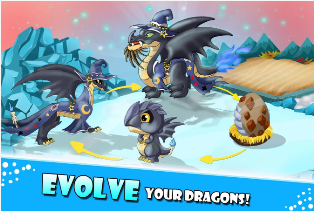 Download Game Dragon Village City Sim Mania V6.77 MOD Apk