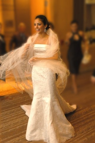 Carol Celico vestido Dior