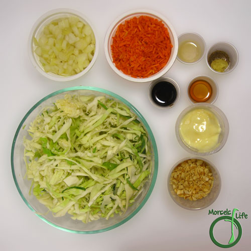 Morsels of Life - Asian Cole Slaw Step 1 - Gather all materials.