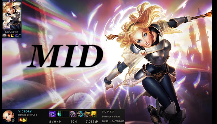 Lux Mid - Ranked Flex 5v5 - League of Legends | LoL
