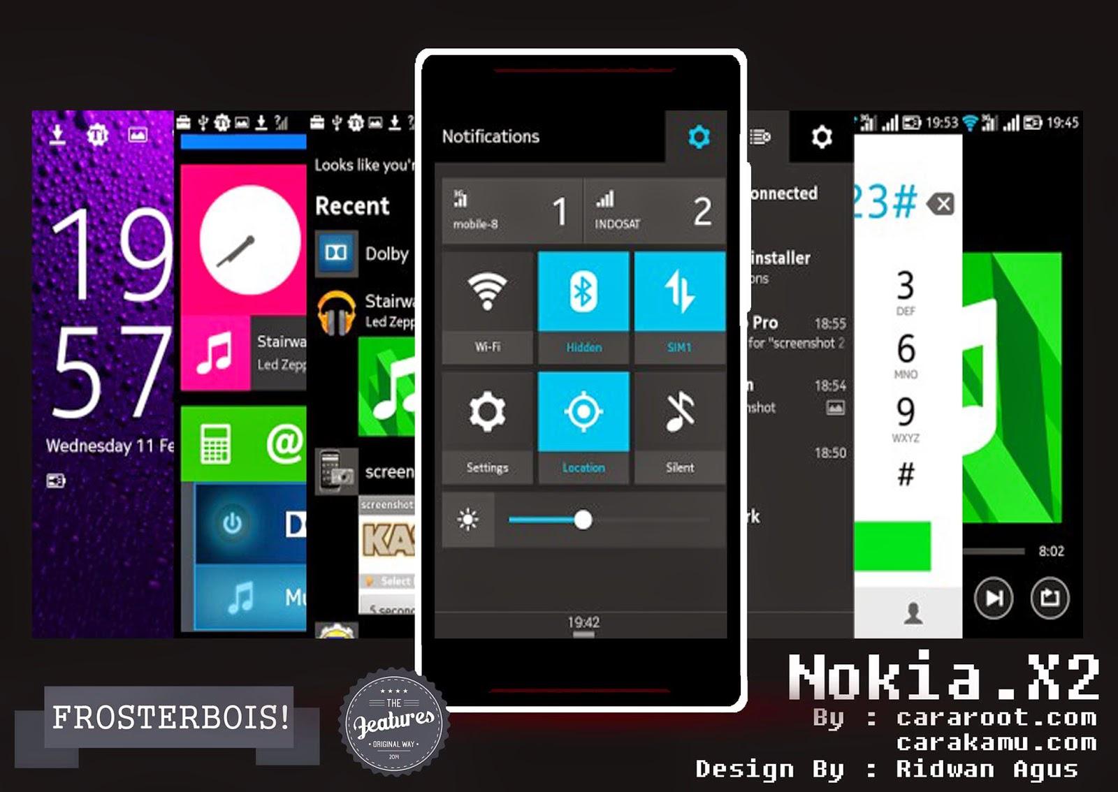 Gambar (Port ROM) Nokia X2 - buat Andromax C2 1