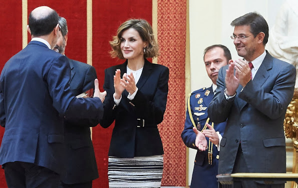Queen Letizia Attended The Delivery Of The 'Justice And Disability Forum' Awards