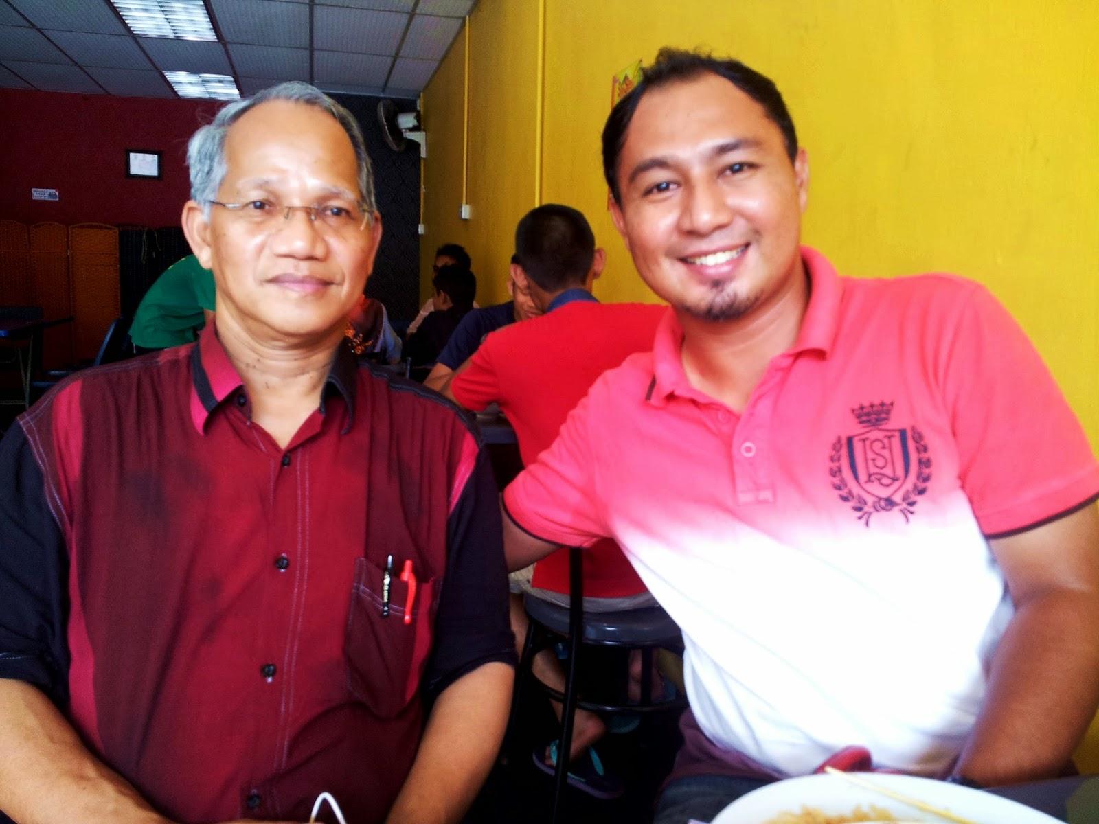 Cikgu Hailmi dan Tuan Haji Rodzli Hashim, GC Geografi Jusa C merangkap YDP Majlis Guru Cemerlang Malaysia