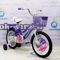 Sepeda Anak Golden Space Girl 16in