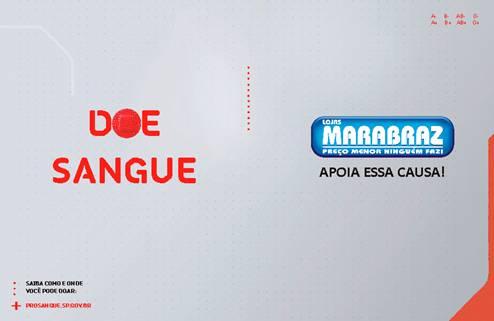 Marabraz apóia fundação Pró-Sangue