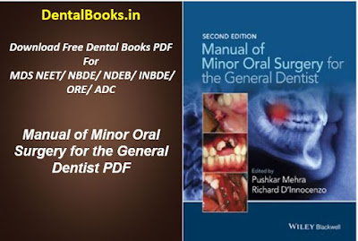 Manual of Minor Oral Surgery for the General Dentist PDF
