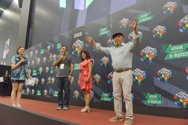 Mauricio de Sousa Comic Con Experience