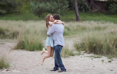 Kristy and Jesse - Engagement Shoot - Centennial Park, Sydney - Lucie Zeka