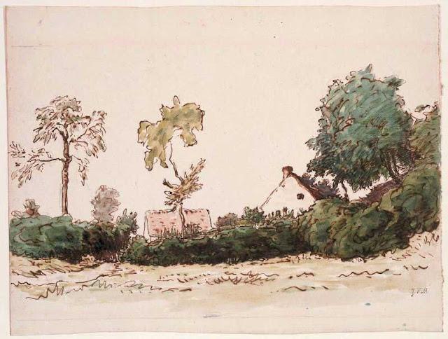 Жан Франсуа Милле - Ферма близ Виши