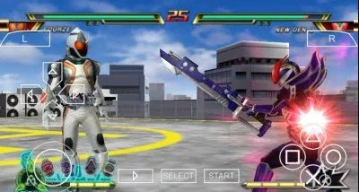 Kamen Rider Climax Heroes Fourze Iso PSP For Android