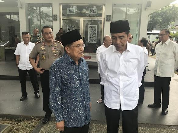 JK Tolak Tawaran Jokowi jadi Ketua Timses