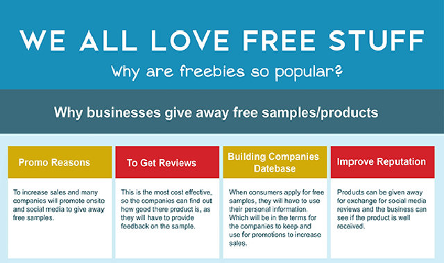 Why Do Businesses Give Away Free Stuff? #infographic