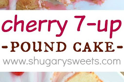 Cherry 7 Up Pound Cake recipe