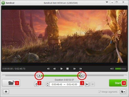 شرح برنامج تقطيع الفيديو الجديد Bandicut 2016