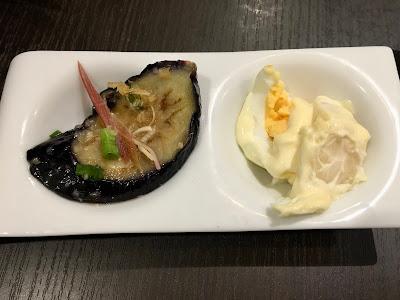 香味野菜と茄子の南蛮 ポテトサラダ