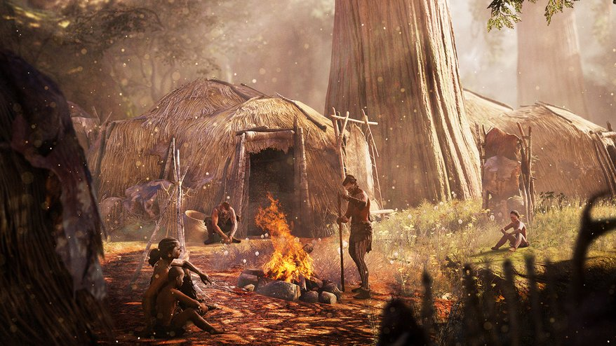 Up late talking games & writing? You're   : Far Cry Primal