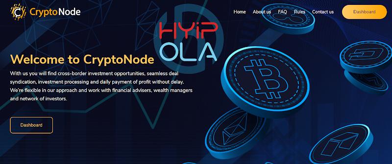 [SCAM] Review CryptoNode - Dự án dài hạn lãi từ 1% hằng ngày