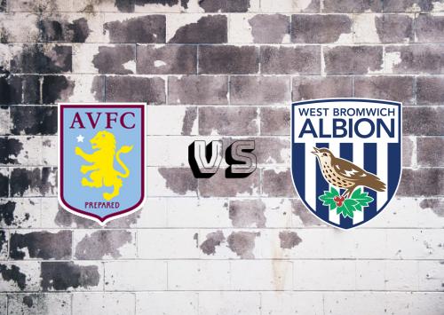 Aston Villa vs West Bromwich Albion  Resumen