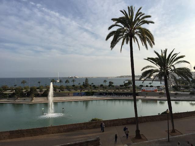 Parc de la Mar, Palma de Mallorca.