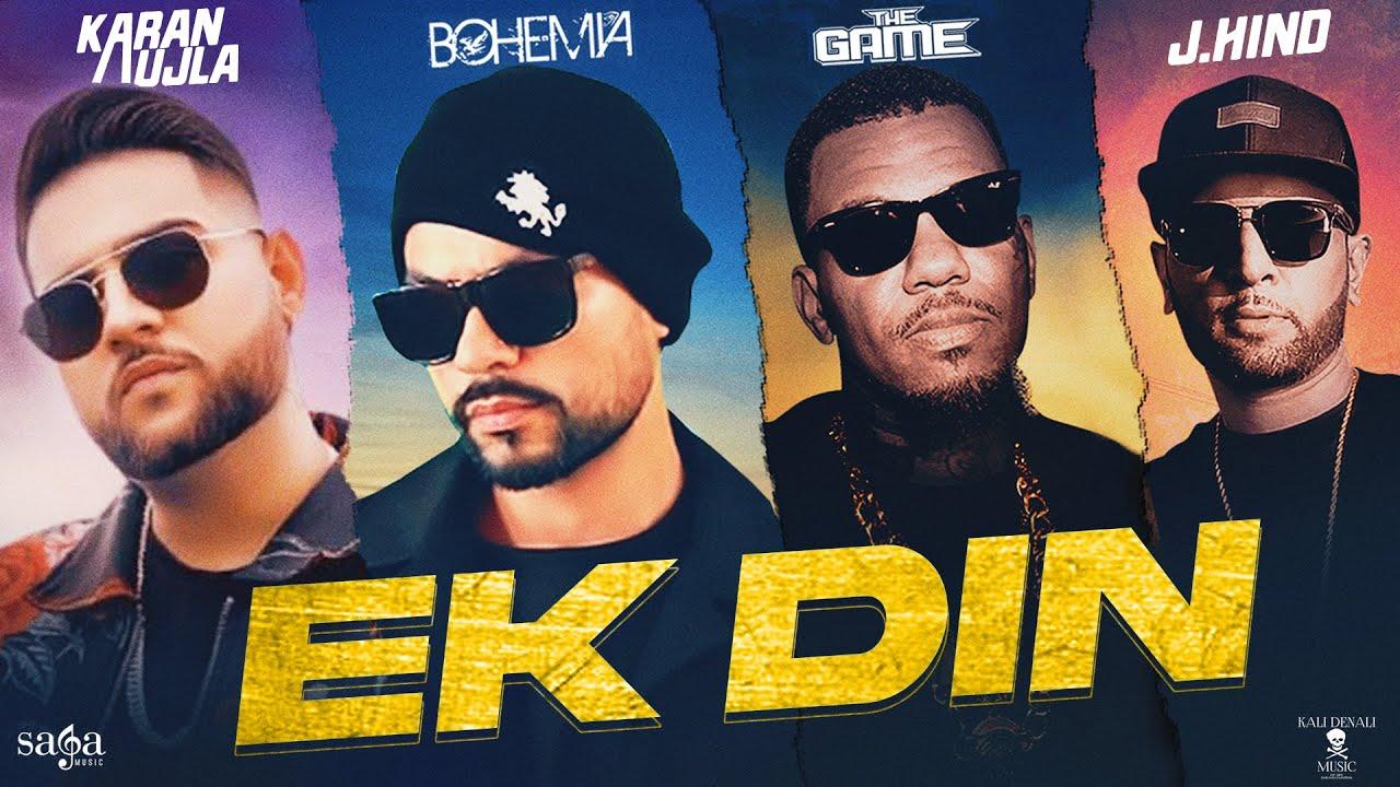 Ek Din Lyrics Bohemia X The Game X Karan Aujla X J Hind   Punjabi Song Lyrics