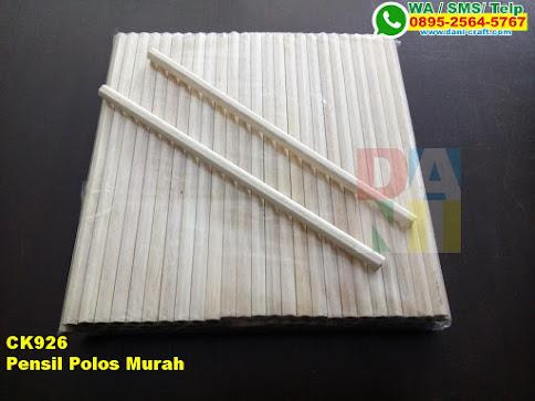 Grosir Pensil Polos Murah