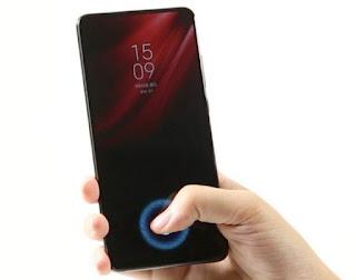 Redmi k20 finger print