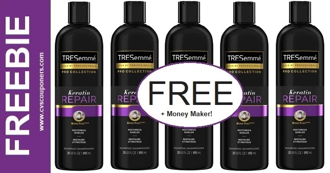 FREE Tresemme Pro Collection CVS Deal 9-19-9-25