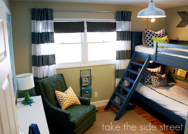 submitted by take the side street boys rooms - Boys Room Ideas With Bunk Beds
