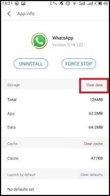Mengganti nomor whatsapp5