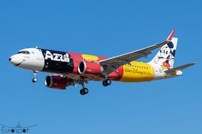 A320N Azul in World Disney World