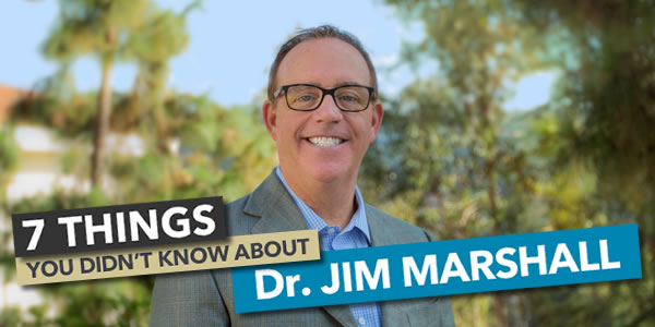 7 Things You Didn't Know About Dr. Jim Marshall