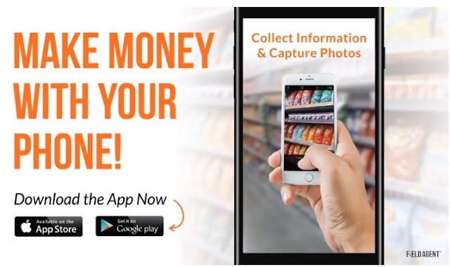 Make money from your phone with Money making Apps- Field agent