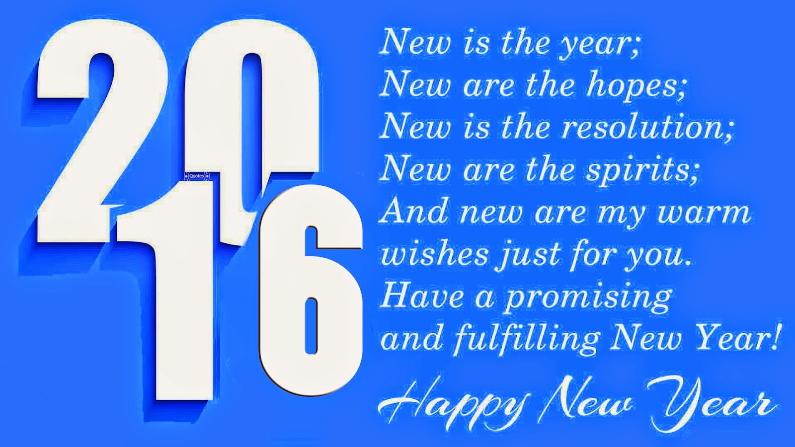 Quotes New Year 2016: {2016*} Happy New Year Quotes In English
