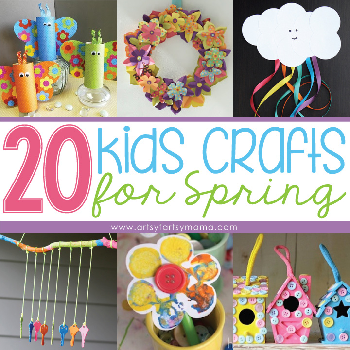 20 Kids Crafts for Spring