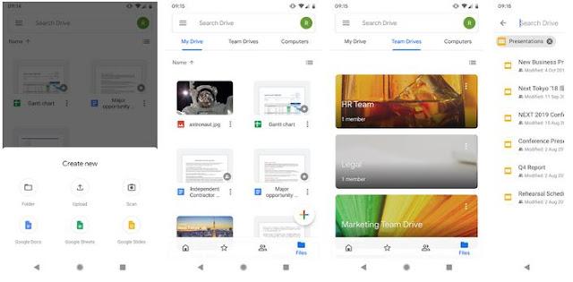 Cara Menambah Memori Internal Android - Google Drive