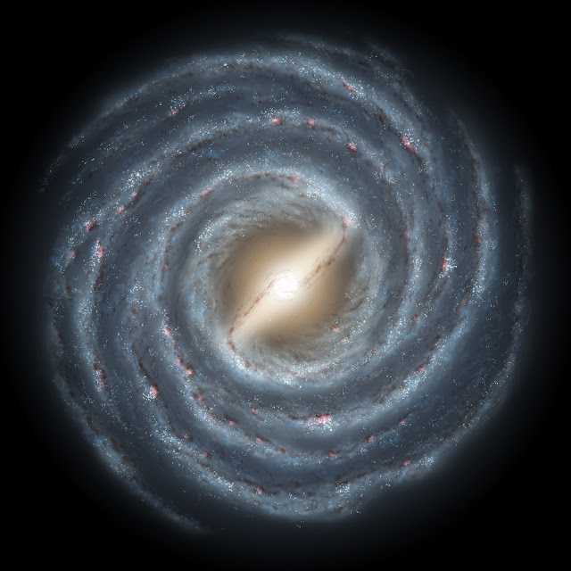 Blowing bubbles in the Milky Way's magnetic field