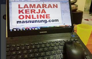 lamaran kerja online