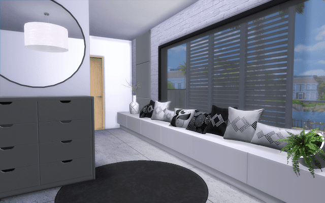 maison sims 4 style moderne