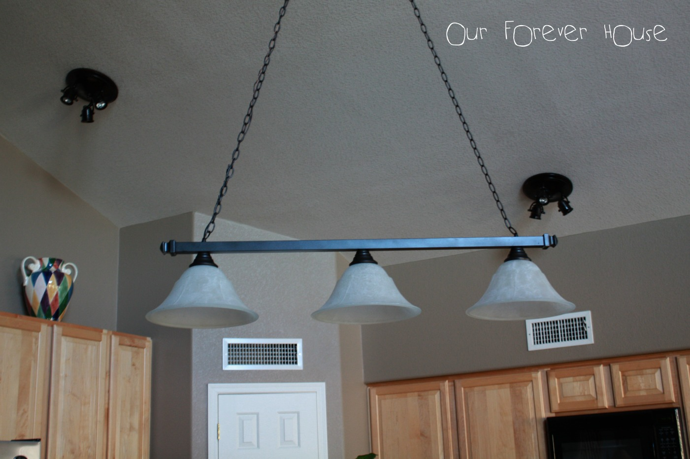 31 days to a functional kitchen day 18 lighting