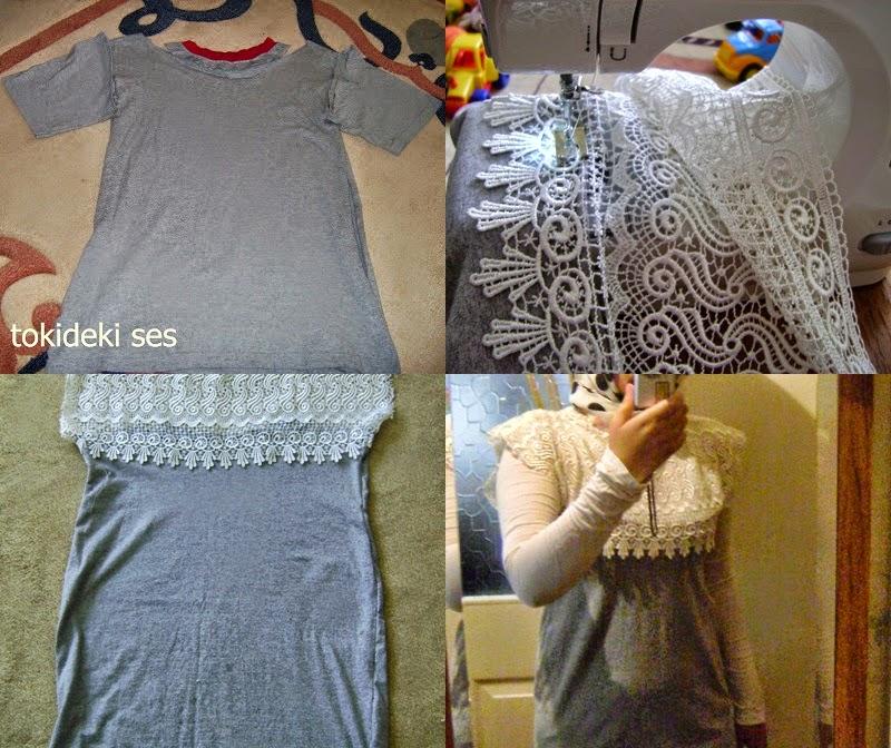 değerlendirmeler, değişim, eskiyi değerlendir, tişört yenilemece, DIY, DİKİŞ, kombin, tesettür kombini, tesettür bloğu, YENİLEME, TASARIM