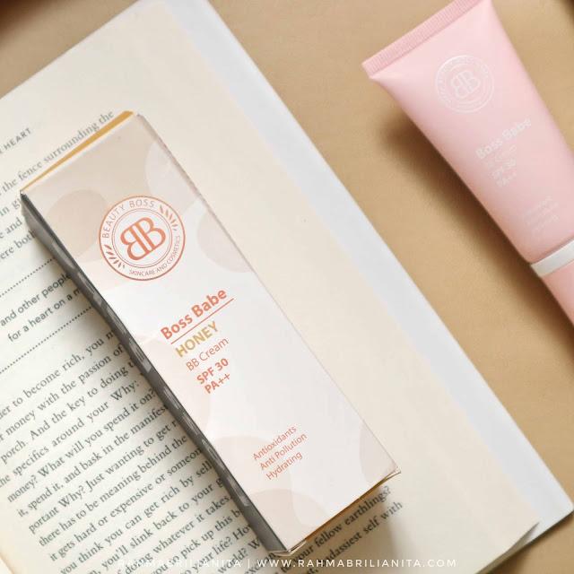 Boss Babe BB Cream shade Honey dari beauty boss cosmetics