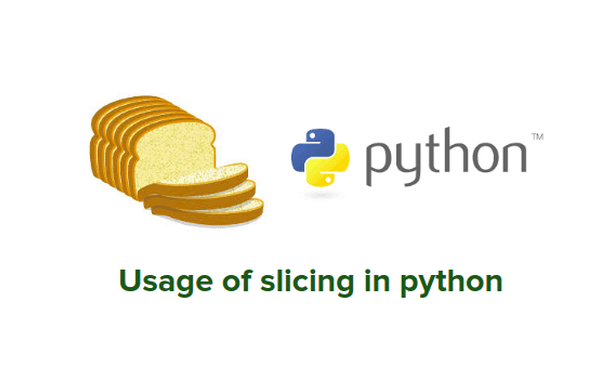 string slicing in python