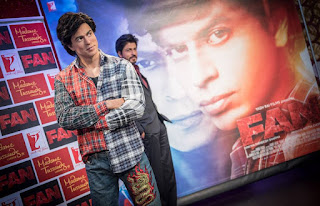 Shah Rukh Khan's Madame Tussauds London wax statue turning into Gaurav